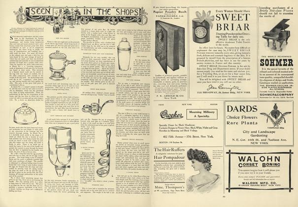 Article Preview: Seen in the Shops, August 8 1907 | Vogue