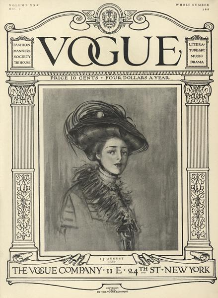 Issue: - August 15 1907 | Vogue