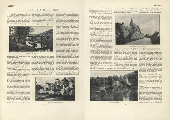 Article Preview: Idle Days in Giverny, August 15 1907 | Vogue