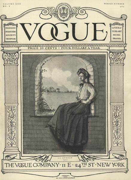 Issue: - August 22 1907 | Vogue