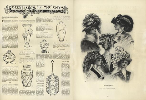 Article Preview: Seen in the Shops, August 22 1907 | Vogue