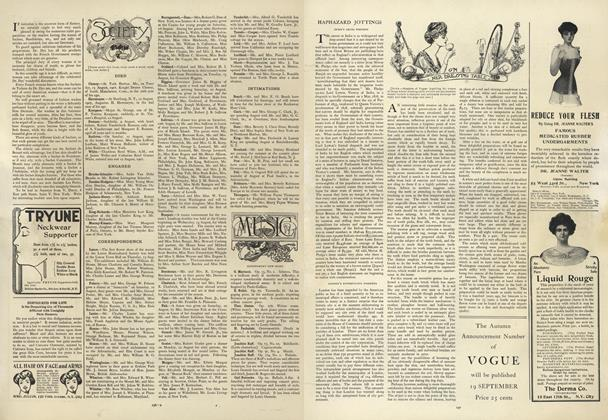Article Preview: Society, August 22 1907 | Vogue