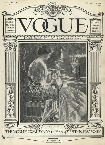 Issue: - August 29 1907 | Vogue