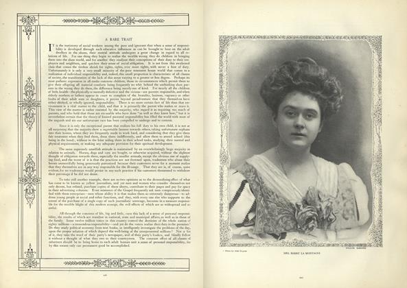 Article Preview: A Rare Trait, August 29 1907 | Vogue