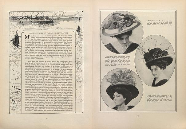 Article Preview: Disadvantages of Family Concentration, September 5 1907 | Vogue