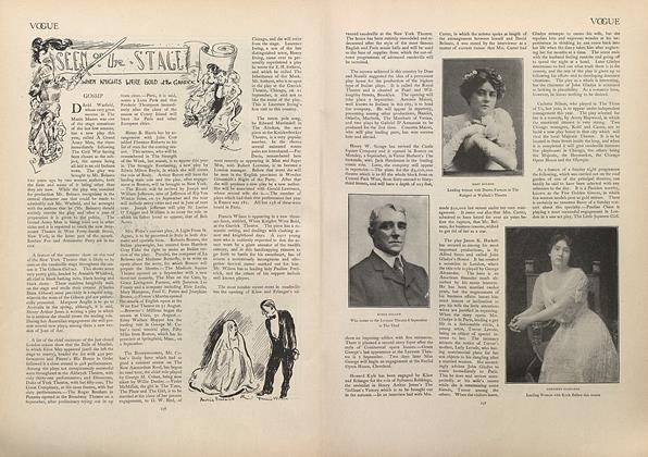 Article Preview: Seen on the Stage, September 5 1907 | Vogue