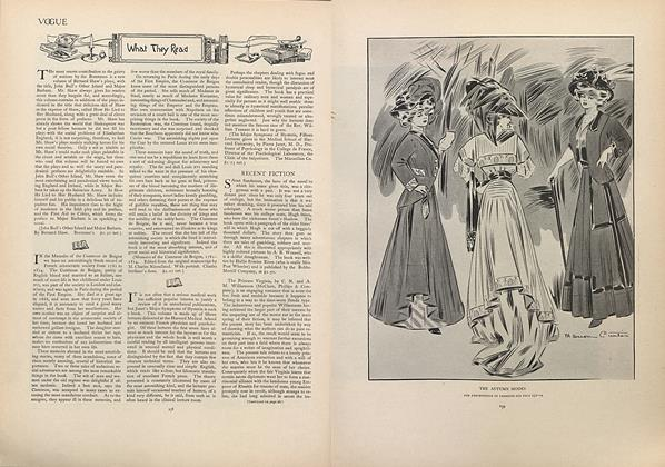Article Preview: What They Read, September 5 1907 | Vogue