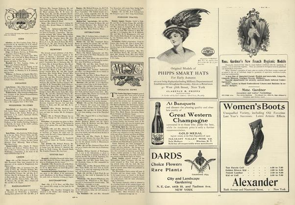 Article Preview: Society, September 12 1907 | Vogue