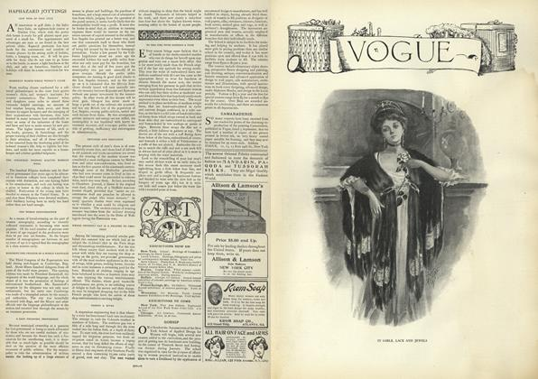 Article Preview: Haphazard Jottings, September 19 1907 | Vogue