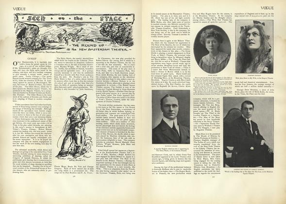 Article Preview: Seen on the Stage, September 19 1907 | Vogue
