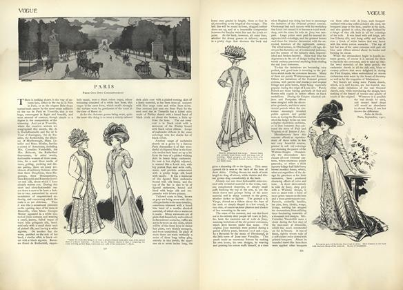 Article Preview: Paris (From Our Own Correspondent), September 19 1907 | Vogue