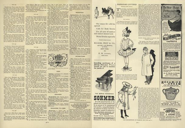 Article Preview: Society, October 3 1907 | Vogue