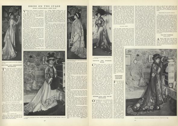 Article Preview: Velvet Fabrics, October 10 1907 | Vogue