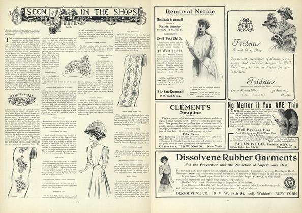 Article Preview: Seen in the Shops, October 10 1907 | Vogue
