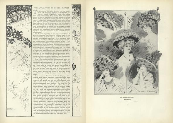 Article Preview: The Application of an Old Proverb, October 17 1907 | Vogue