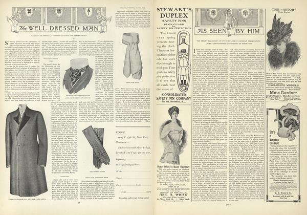Article Preview: As Seen by Him, October 24 1907 | Vogue