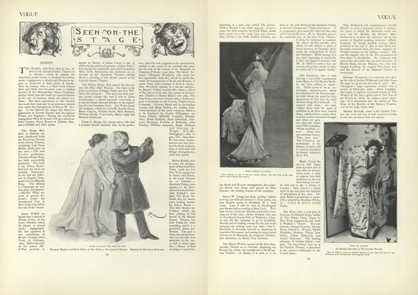 Article Preview: Seen on the Stage, October 24 1907 | Vogue