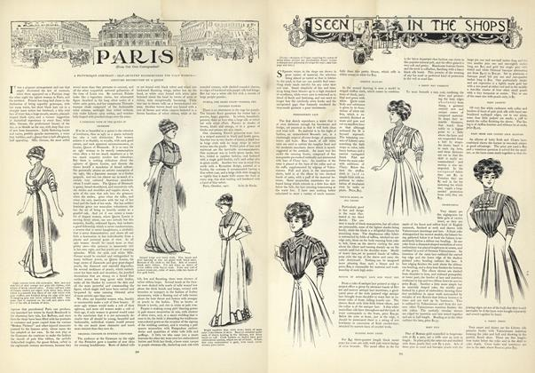 Article Preview: Seen in the Shops, October 31 1907 | Vogue