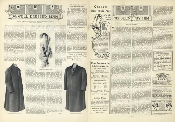 Article Preview: As Seen by Him, October 31 1907 | Vogue