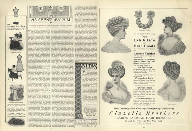Article Preview: As Seen by Him, November 7 1907 | Vogue