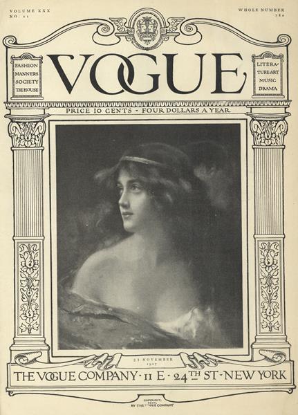 Issue: - November 21 1907 | Vogue