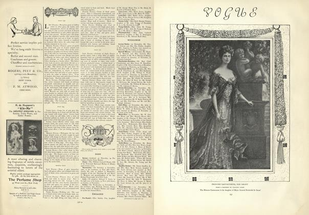 Article Preview: Society, November 21 1907 | Vogue