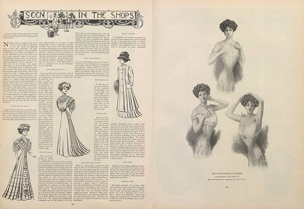 Article Preview: Seen in the Shops, November 28 1907 | Vogue