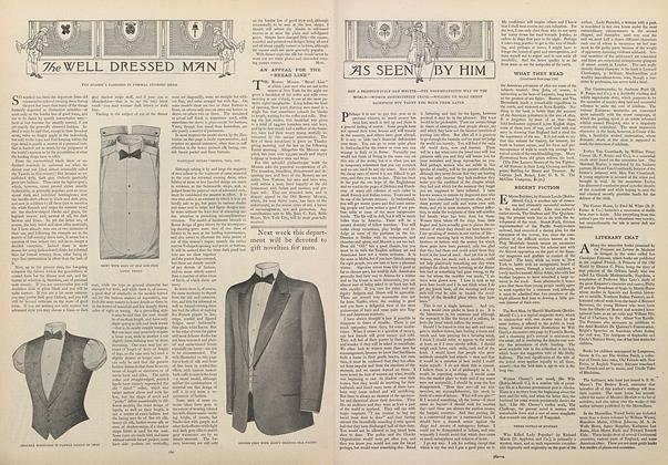 Article Preview: The Well Dressed Man, November 28 1907 | Vogue