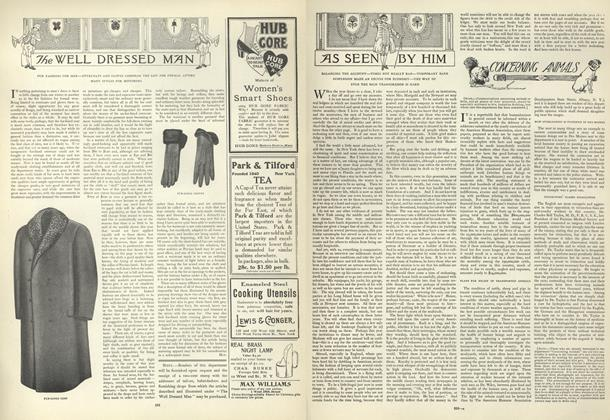 Article Preview: As Seen by Him, December 12 1907 | Vogue