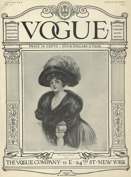 Issue: - December 26 1907 | Vogue