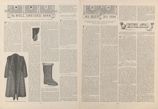 Article Preview: As Seen by Him, January 2 1908 | Vogue