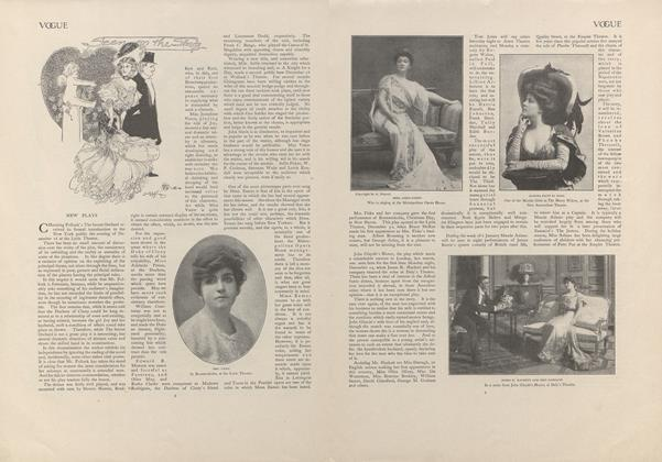 Article Preview: Seen on the Stage, January 2 1908 | Vogue