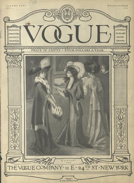 Issue: - January 9 1908 | Vogue