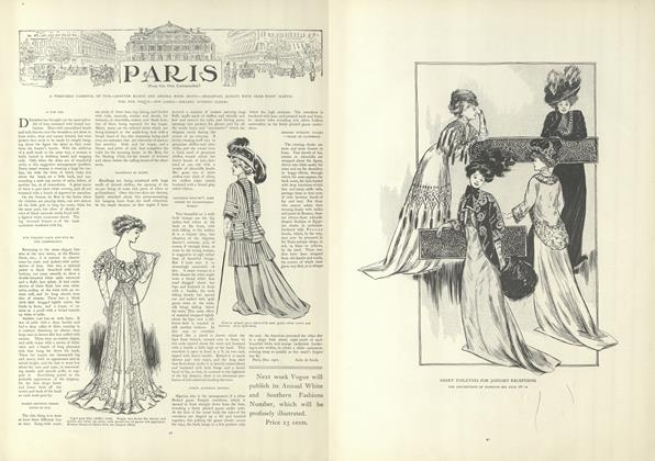 Article Preview: Paris (From Our Own Correspondent), January 9 1908 | Vogue