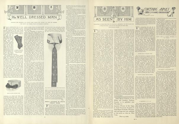 Article Preview: As Seen by Him, January 9 1908 | Vogue