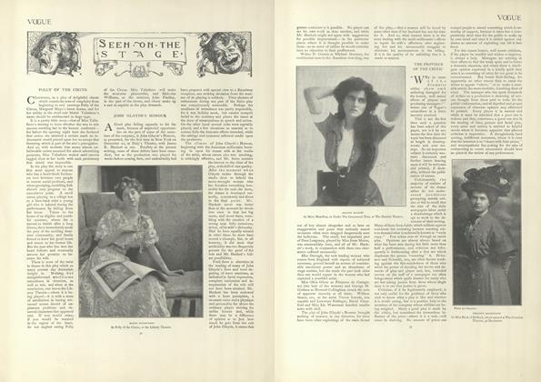 Article Preview: Seen on the Stage, January 9 1908 | Vogue