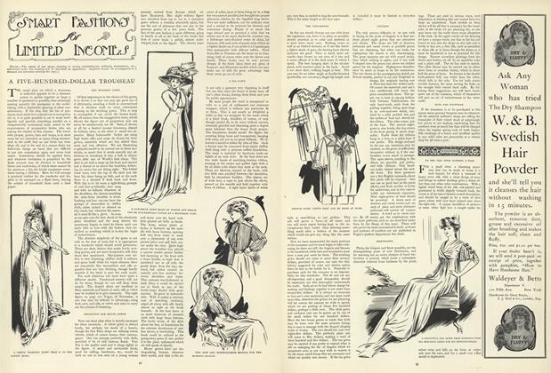Article Preview: Smart Fashions for Limited Incomes, January 16 1908 | Vogue