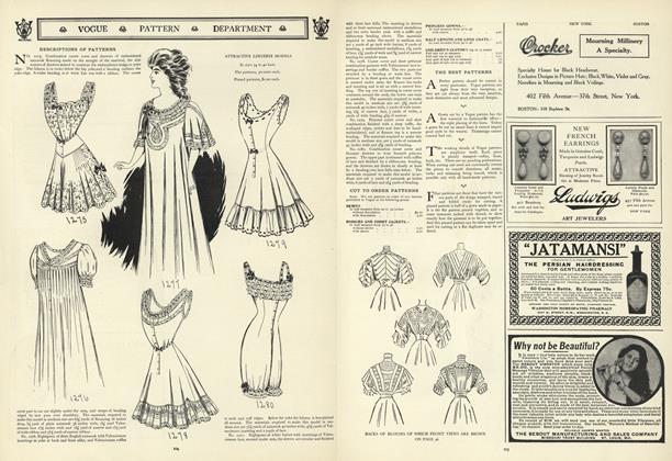 Descriptions of Patterns