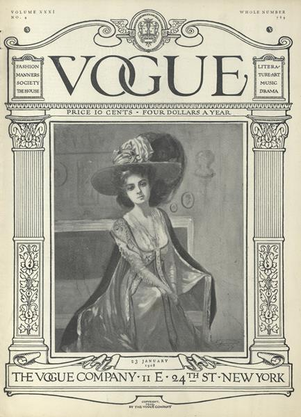 Issue: - January 23 1908 | Vogue