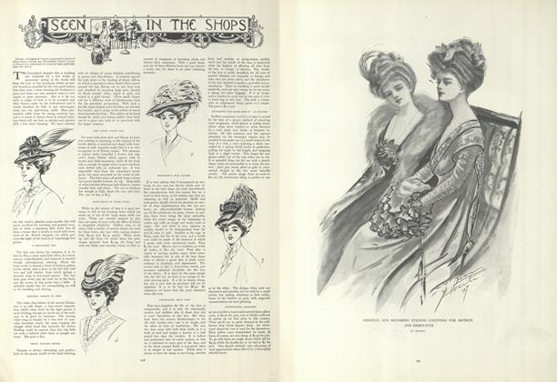 Article Preview: Seen in the Shops, January 23 1908 | Vogue