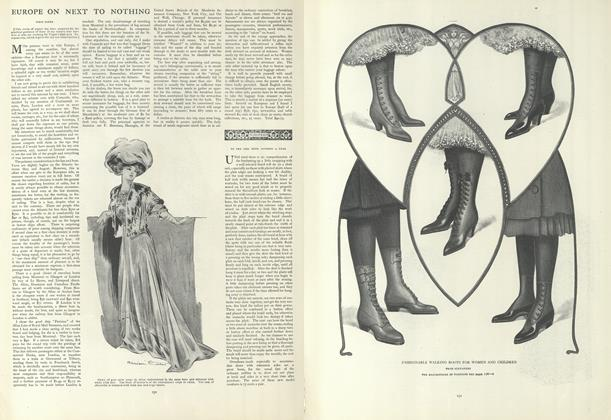 Article Preview: Europe on Next to Nothing, January 23 1908 | Vogue