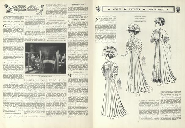 Article Preview: Concerning Animals, January 23 1908 | Vogue