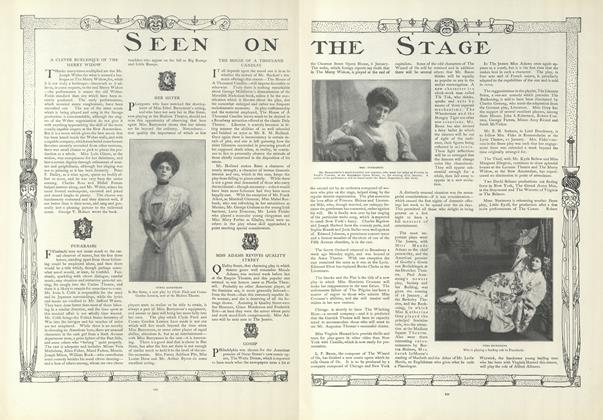 Article Preview: Seen on the Stage, January 23 1908 | Vogue