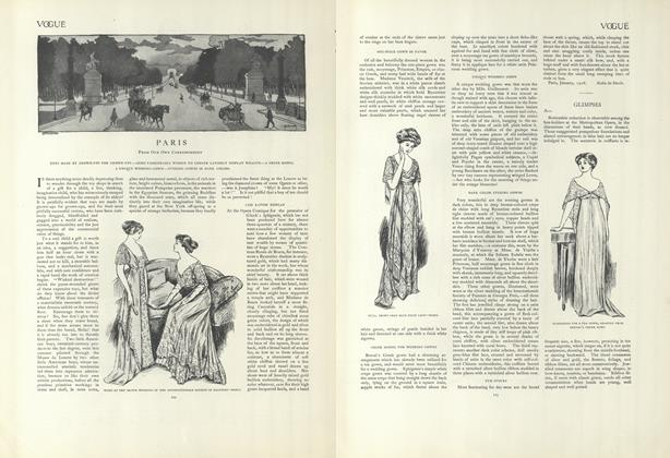 Article Preview: Paris (From Our Own Correspondent), January 23 1908 | Vogue