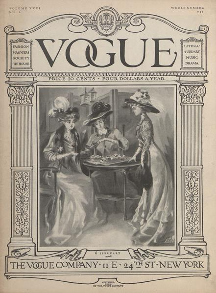 Issue: - February 6 1908 | Vogue