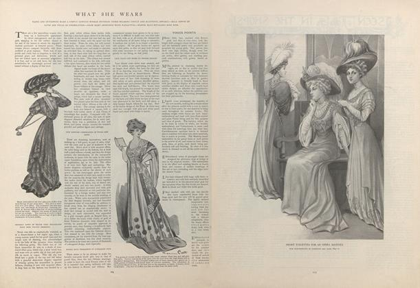 Article Preview: What She Wears, February 6 1908 | Vogue