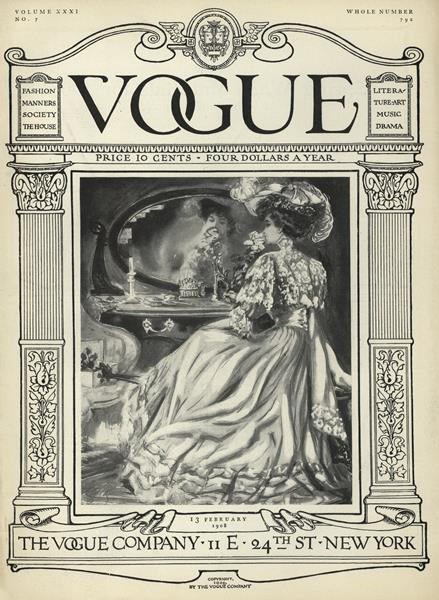 Issue: - February 13 1908 | Vogue