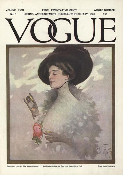 Issue: - February 20 1908 | Vogue