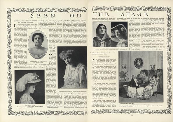 Article Preview: Seen on the Stage, February 20 1908 | Vogue