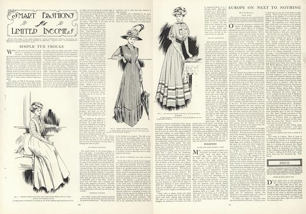 Article Preview: Smart Fashions for Limited Incomes, February 20 1908 | Vogue